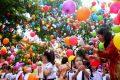 Hình ảnh lễ khai giảng năm học mới trường TH Nguyễn Chí Thanh – Ea Kar